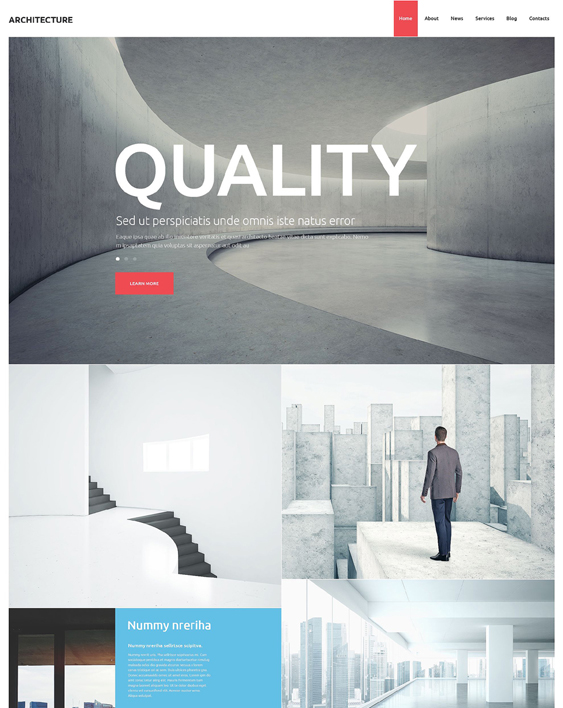 architecture studio architect wordpress themes