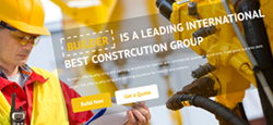 construction contractor drupal themes feature