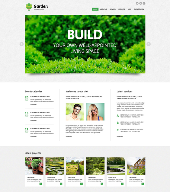garden gardener landscaping wordpress themes