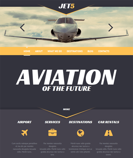 private transportation wordpress themes