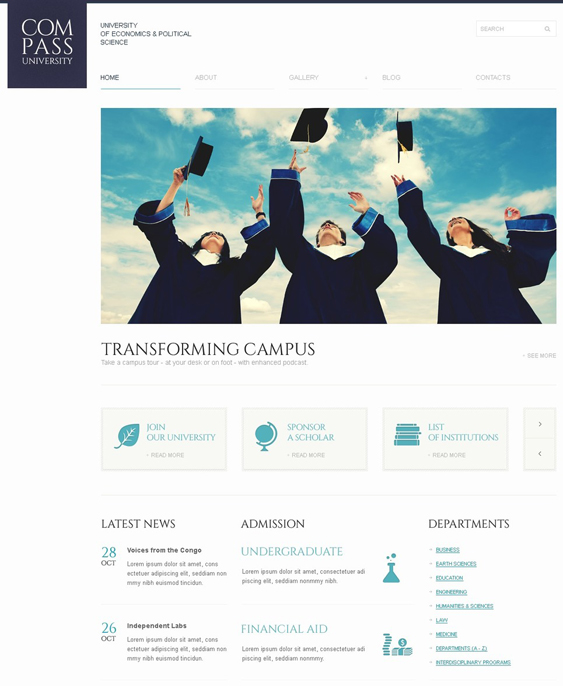 solid education wordpress themes