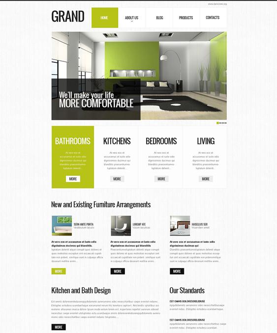 special interior design drupal themes