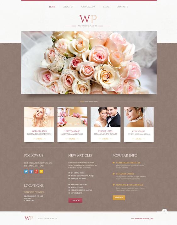 tender wedding wordpress themes