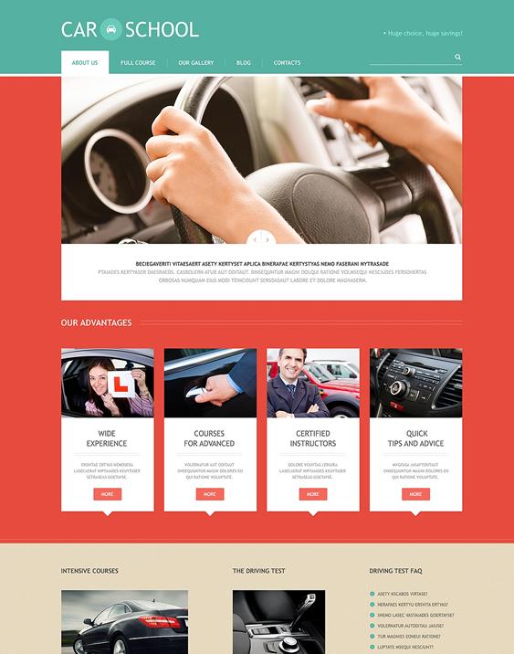 traffic education wordpress themes