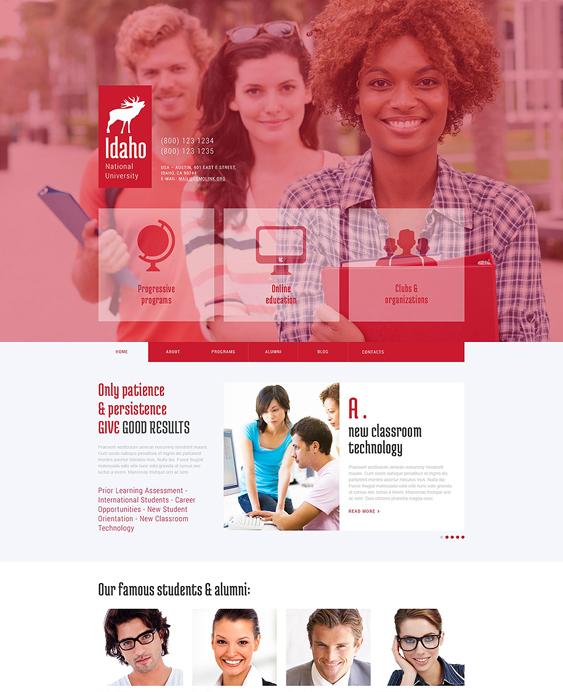 university education wordpress themes