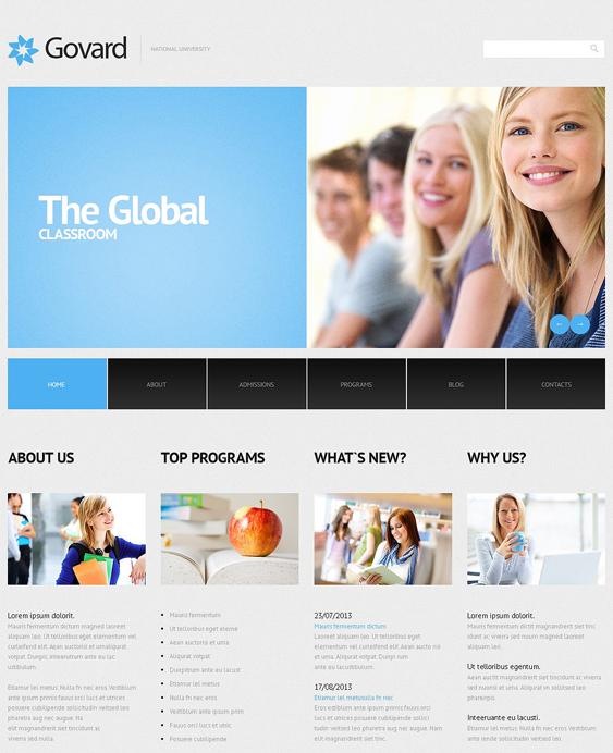 university responsive education wordpress themes