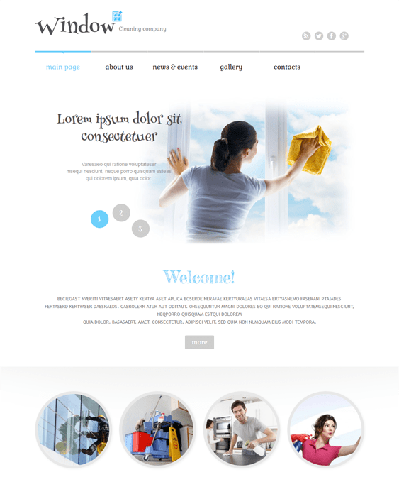 window cleaning wordpress themes