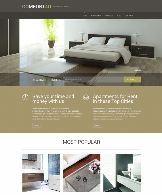 apartments for real estate wordpress themes