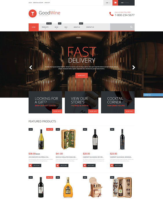 excellent food drink shopify themes