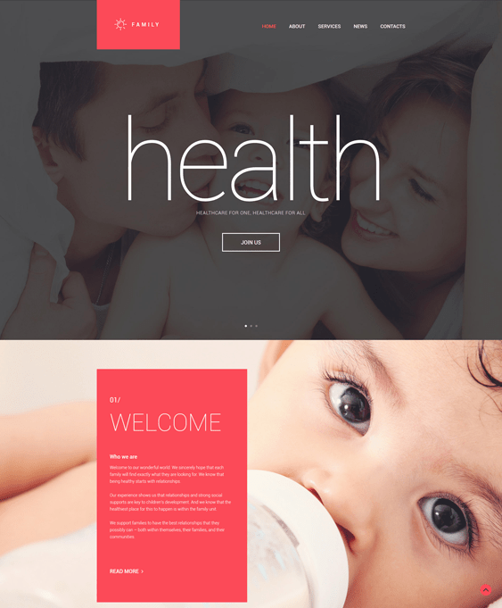family medical drupal themes
