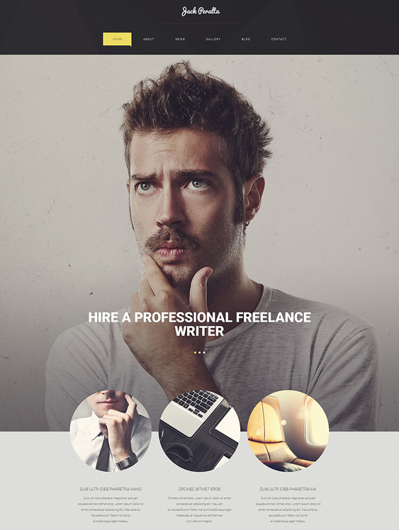 freelance books writers wordpress themes