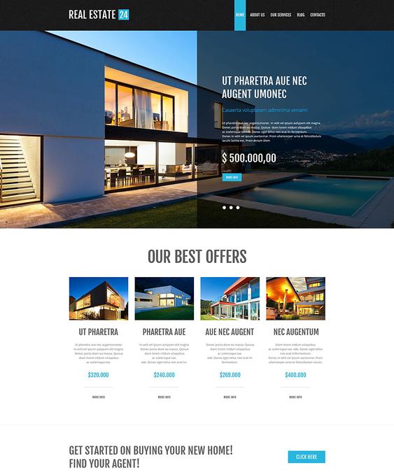 realtor services real estate wordpress themes