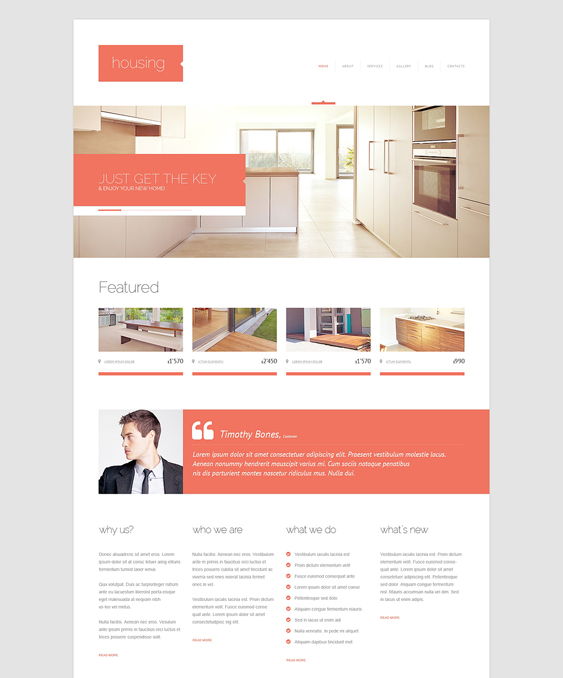 renting agency real estate wordpress themes