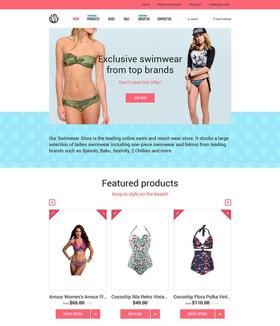 swimwear shopify themes