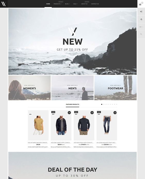apparel clean shopify themes