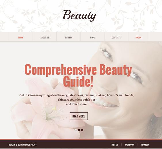 beauty salon spa joomla templates 2