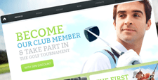 best sports drupal themes feature