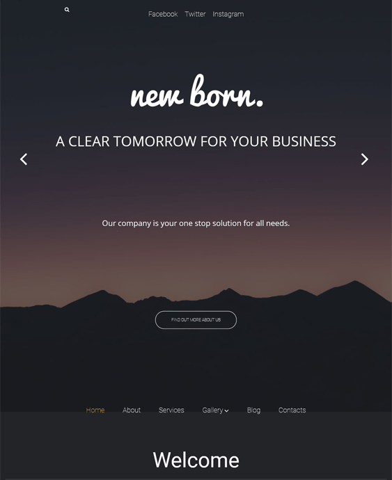 business agent dark wordpress themes