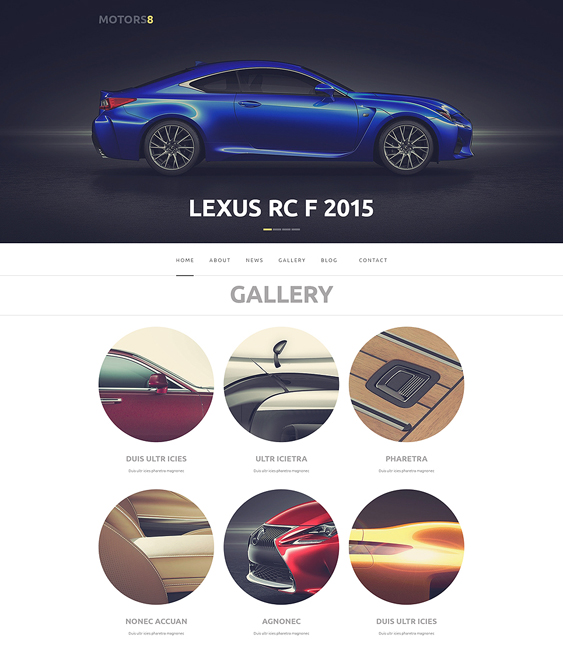 car vehicle automotive wordpress themes 2