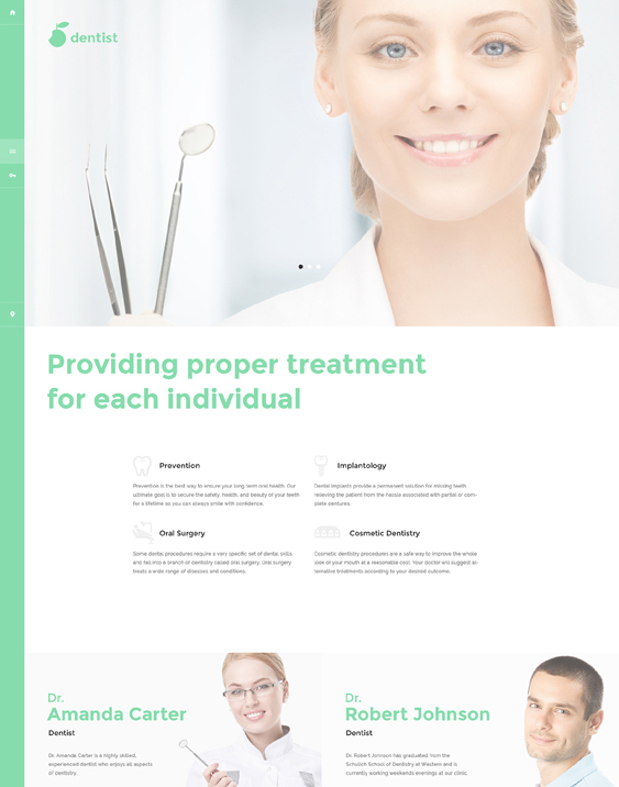 dental clinic dentist joomla templates