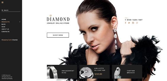 diamond responsive shopify themes