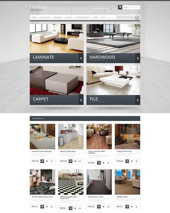 durable hardware home improvement magento themes