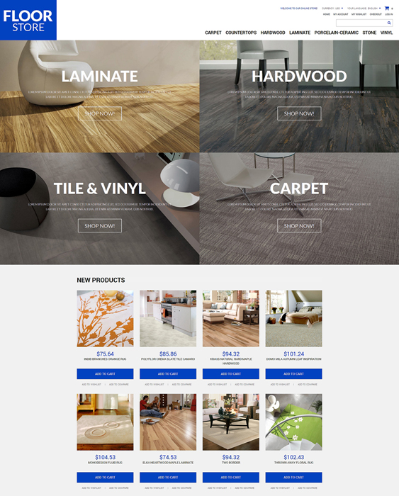 floor materials hardware home improvement magento themes