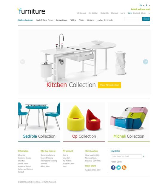 furniture magento themes 3