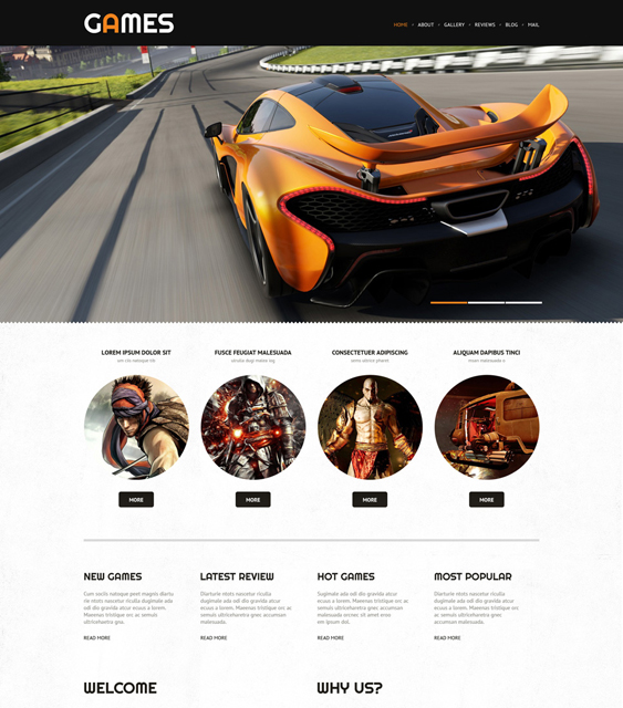 game portal gaming wordpress themes