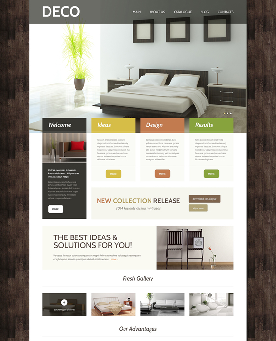 interior design wordpress themes 4