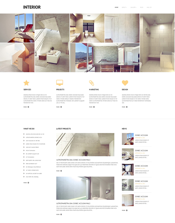 interior design wordpress themes 6
