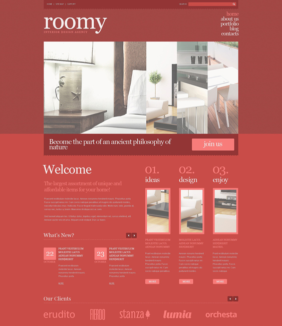 interior design wordpress themes 9