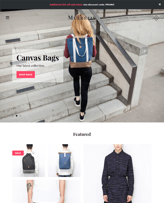 mosaic mulberry responsive shopify themes