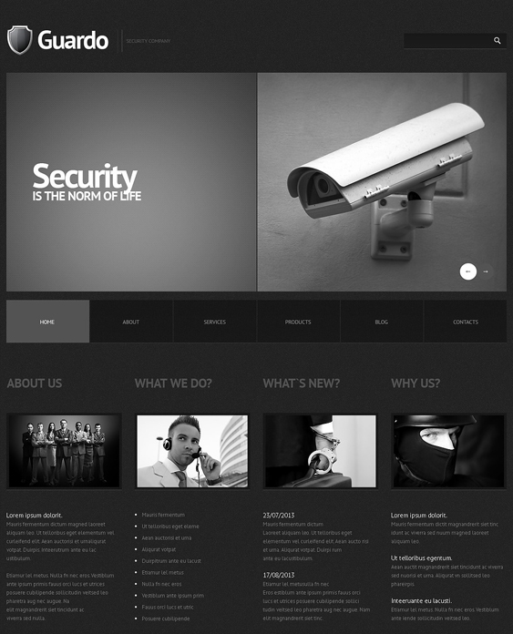 10 of the Best Security WordPress Themes – <br />down