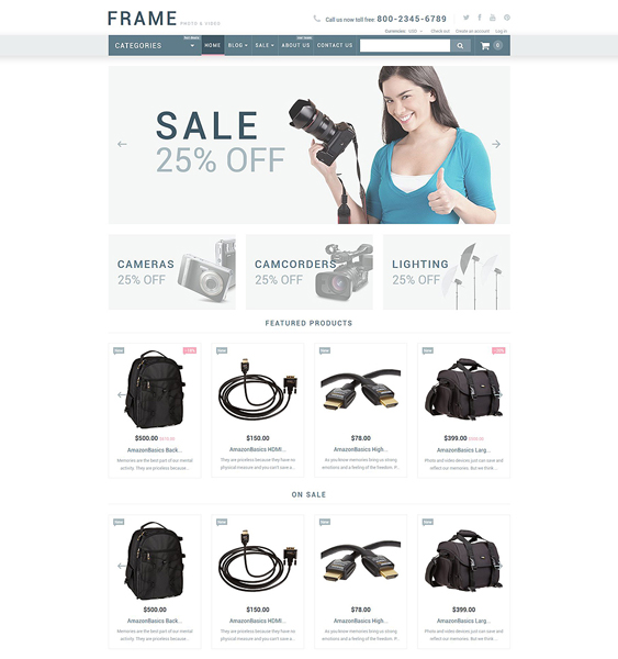 video store clean shopify themes