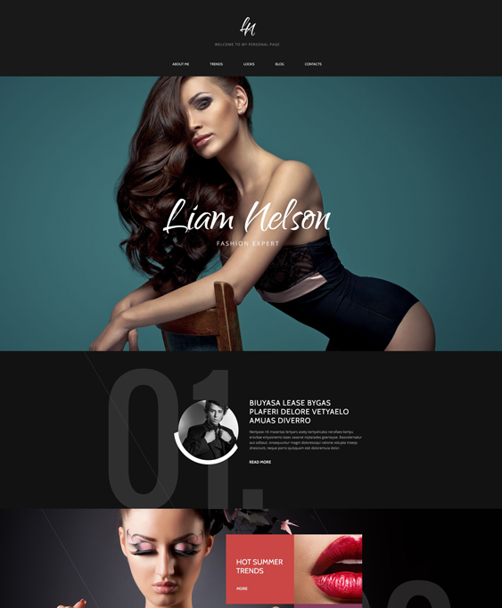 fashion clean drupal themes