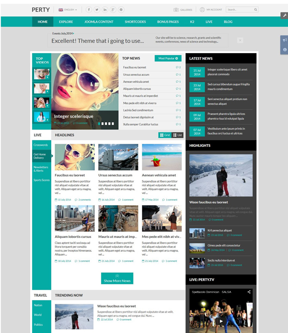 sj perty news magazine joomla templates