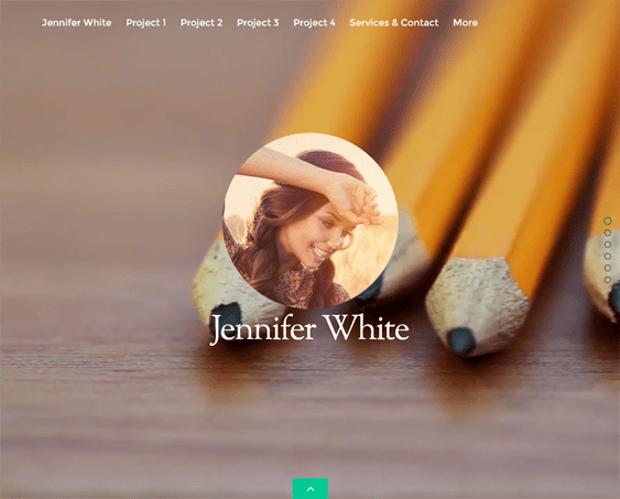 split portfolio wordpress themes