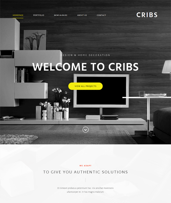 the core architect wordpress themes