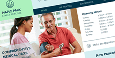 best medical wix templates feature