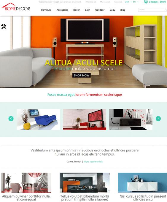 17 of the best furniture interior design home decor opencart