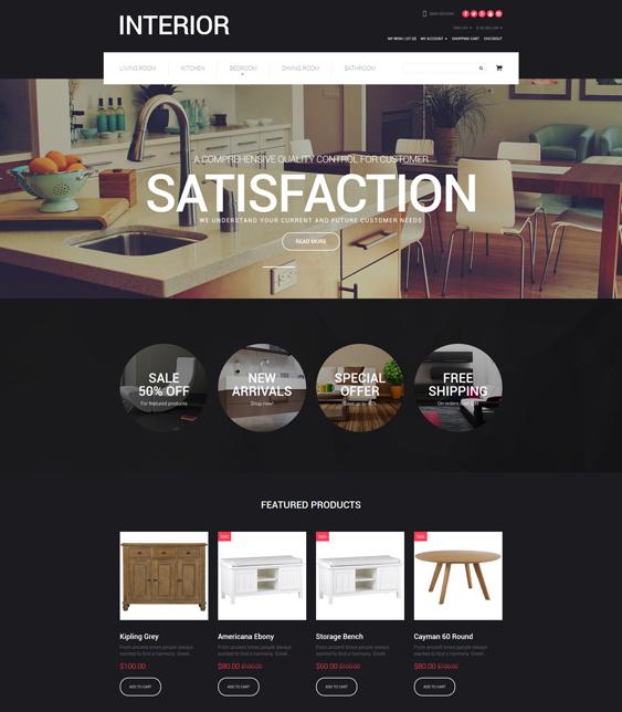 furniture interior home decor interior design opencart themes