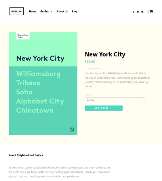 label publish minimal shopify themes