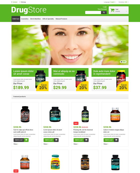 reliable medical prestashop themes