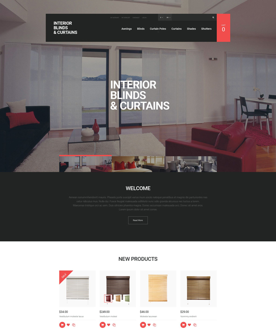 window minimal magento themes