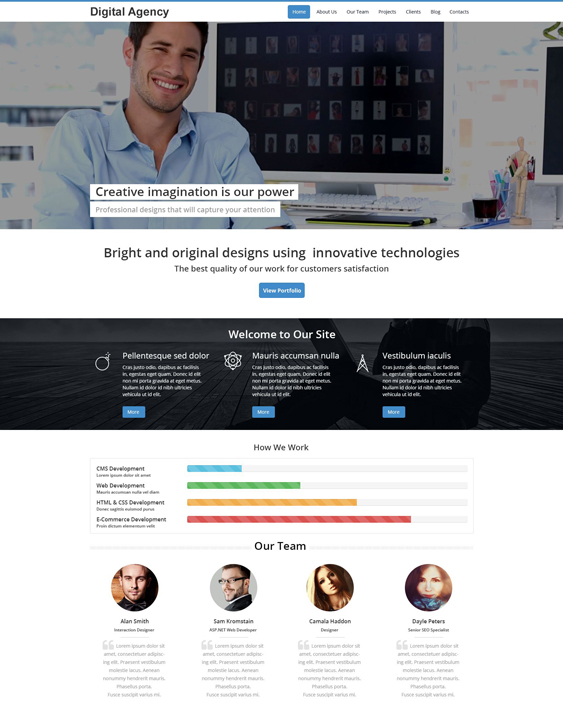 digital business drupal themes