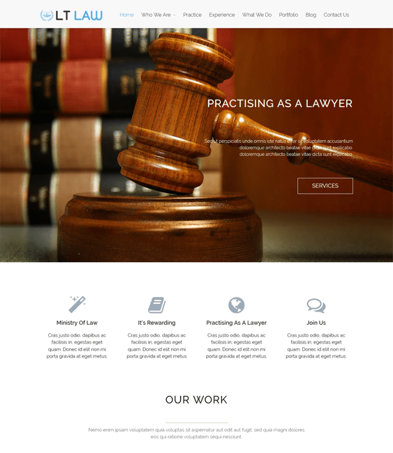lt law lawyer attorney wordpress themes