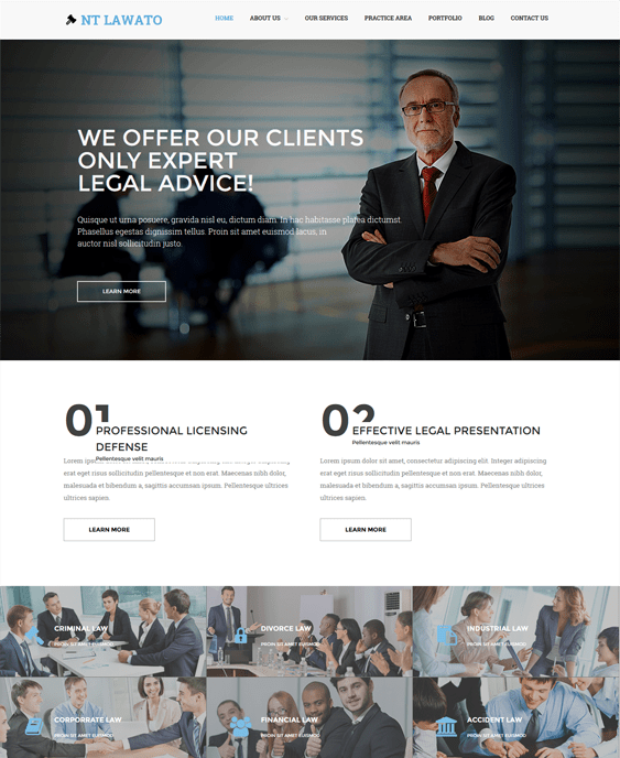 nt lawato lawyer attorney wordpress themes