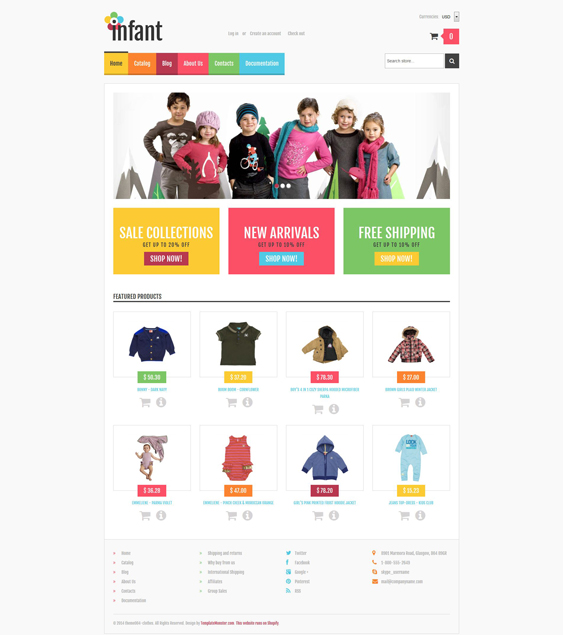 baby store kids shopify themes