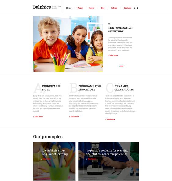 balphics education joomla templates